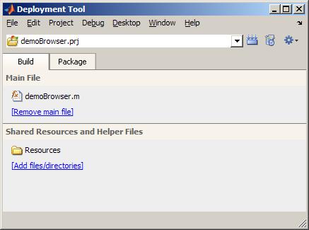 Deploying GUIs using the MATLAB Compiler
